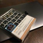 劇的に打ちやすい MacBook 12インチ キーボードカバーBEFiNE