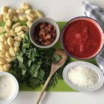 quick and easy: creamy tomato gnocchi