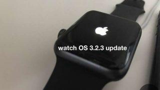 【実測】watchOS 3.2.3 Apple Watchアップデート所要時間!何分かかるの?