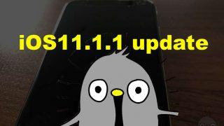 【実測】iOS 11.1.1 iPhoneアップデート時間どのくらい!容量は?今回はバグ修正!
