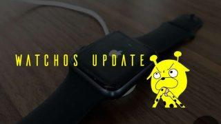 【実測】watchOS 4.2.2Apple Watchアップデート時間は?容量は?
