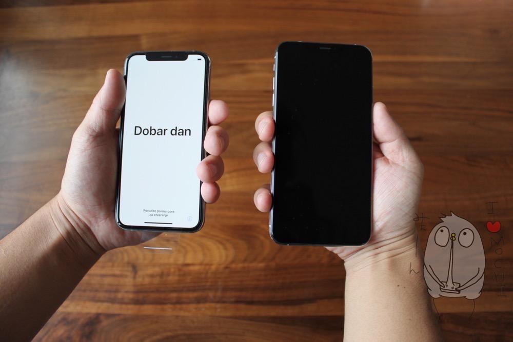 iPhoneXs Max「でかすぎ」て手が痛くなるからXsに買い換えたよ ...